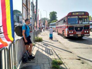 Reiseplanung Rucksack Bus