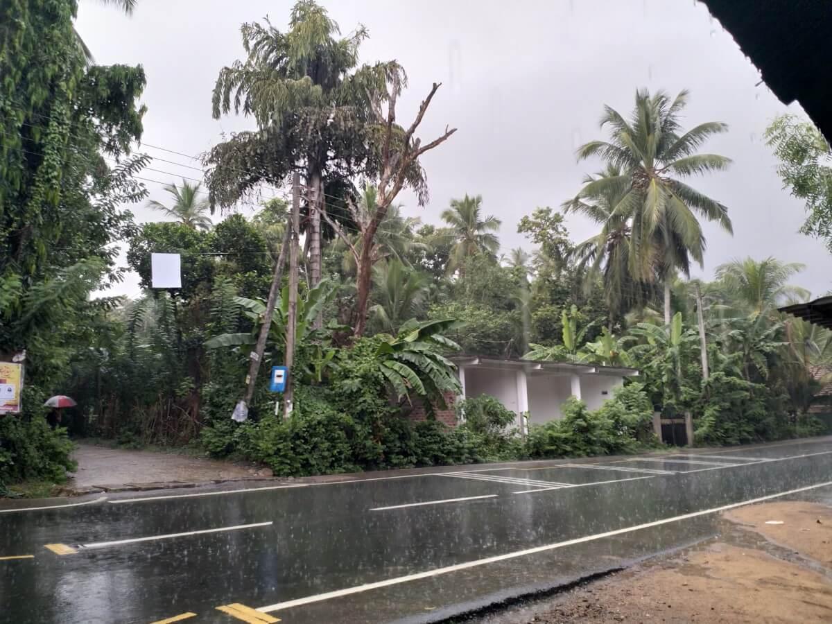 Reiseplanung Rucksack Regenzeit