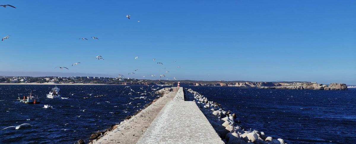 Algarve Highlights Sagres Hafen