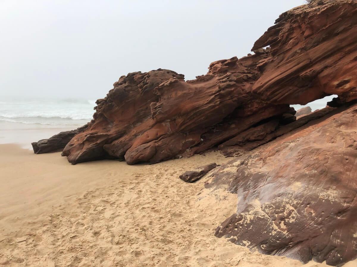 Algarve Highlights Strand Gestein