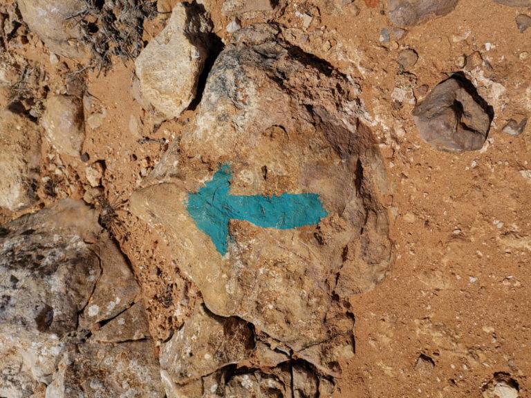 Portugal Algarve Markierung