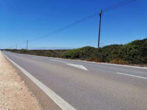 Portugal Algarve Straße Pfeil