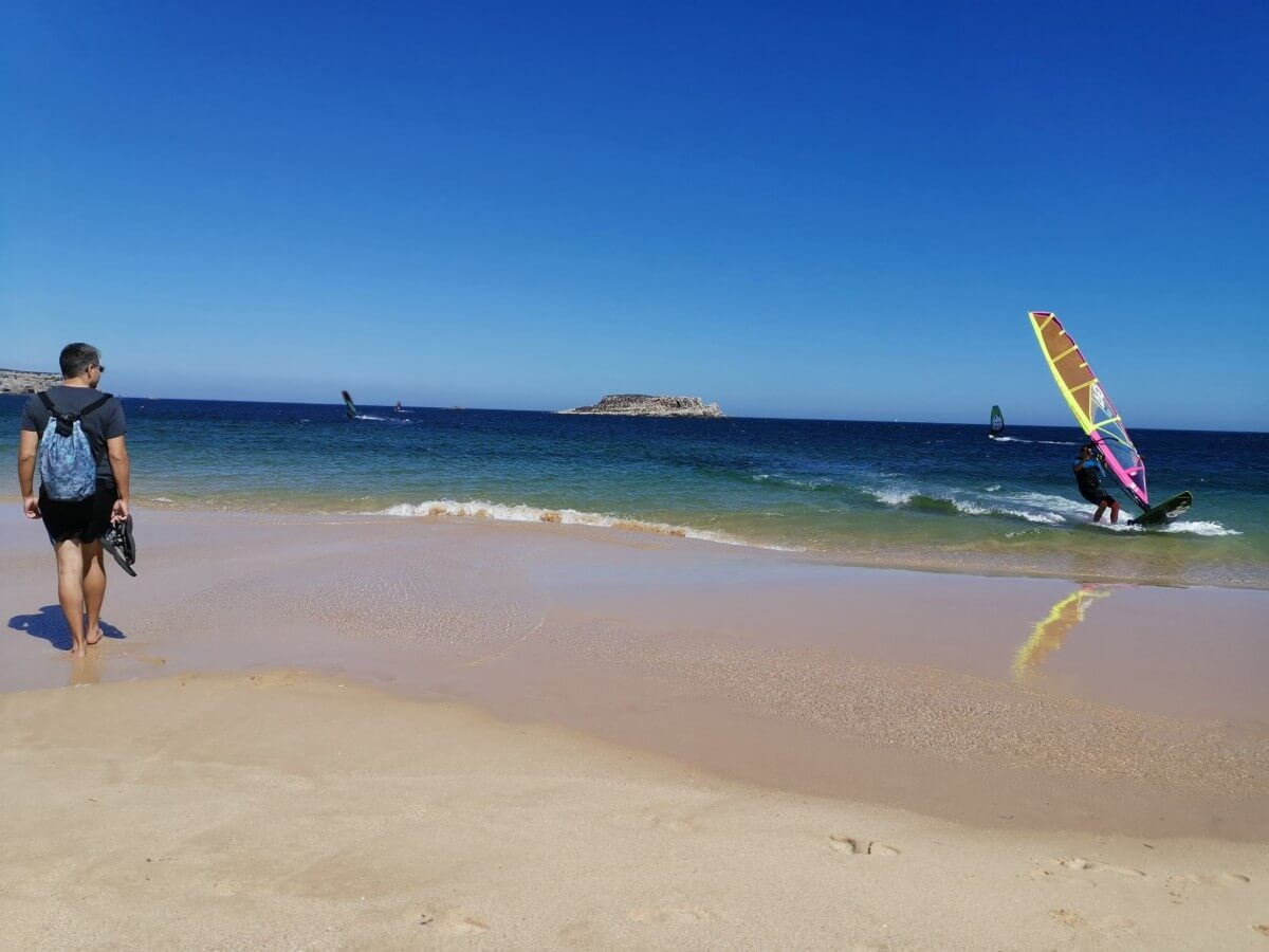 Portugal Westküste Glücksmoment