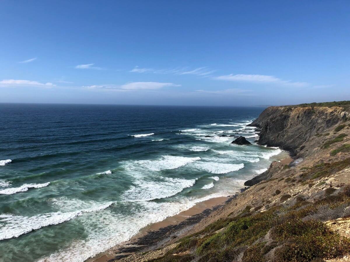 Portugal Westküste Klippe