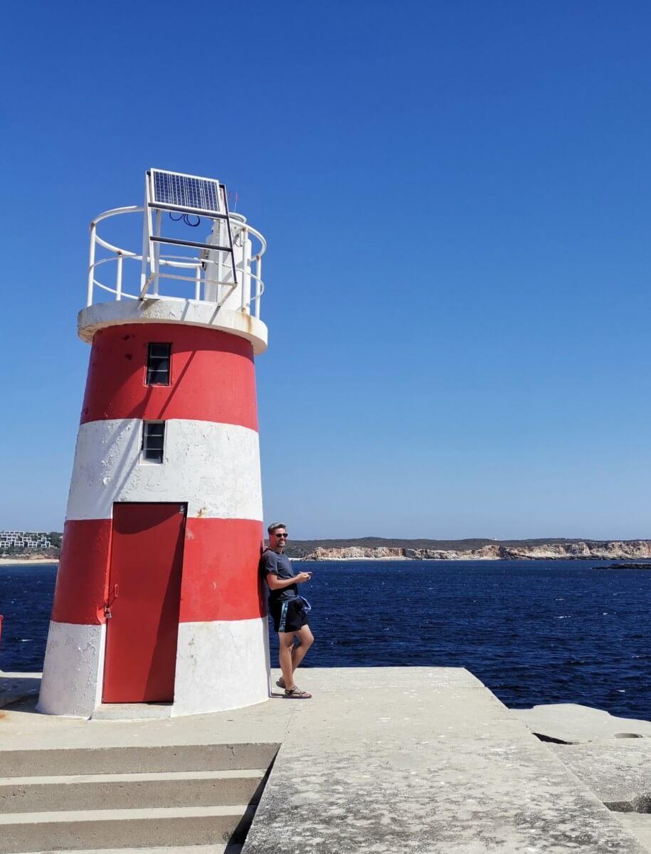Portugal Westküste Leuchtturm