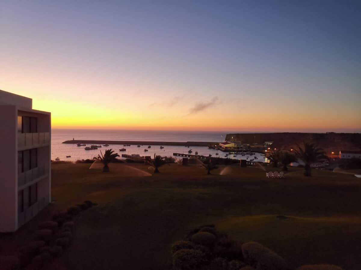 Portugal Westküste Sonnenaufgang