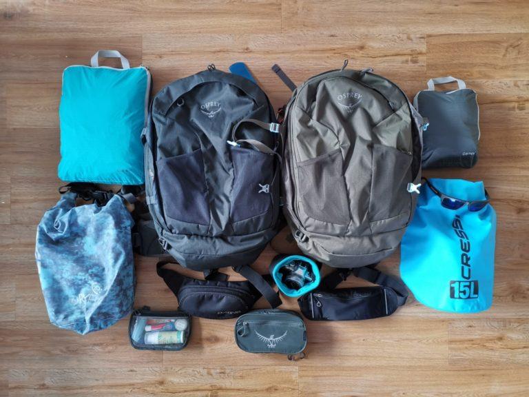 Packliste Backpacker Zubehör Reise