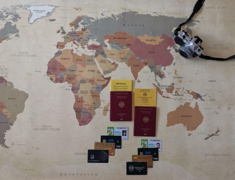 Packliste Dokumente Südostasien Reise