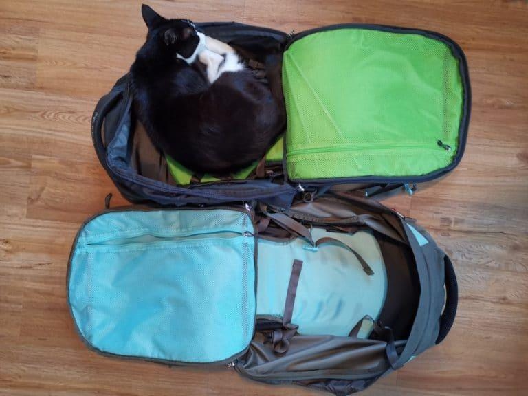 Packliste für Backpacker Handgepäck Rucksack