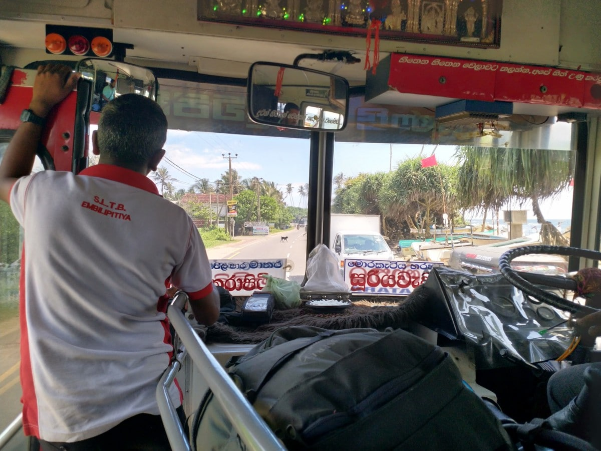 Südostasien abenteuerliche Busfahrt auf Reise