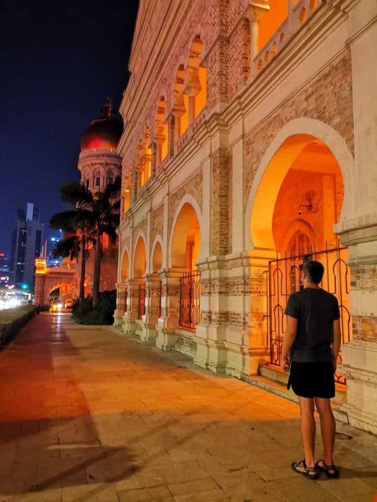 Malaysia Kuala Lumpur bei Nacht