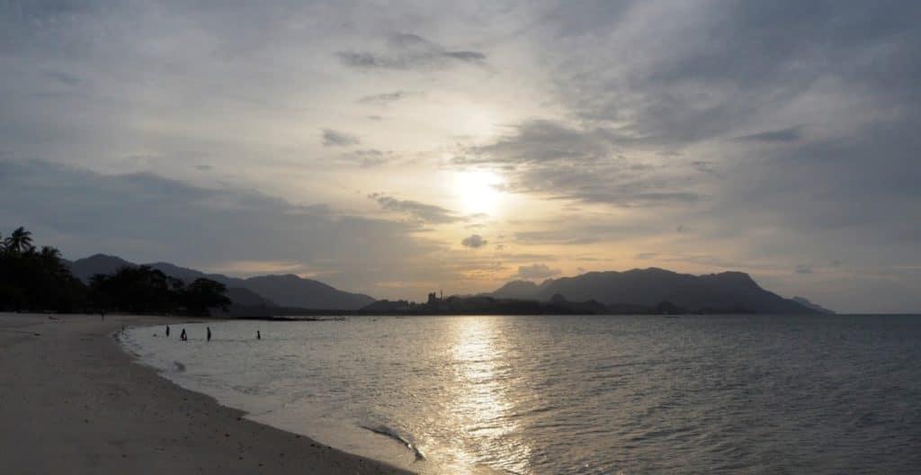 Langkawi Traumstrand Sonnenuntergang
