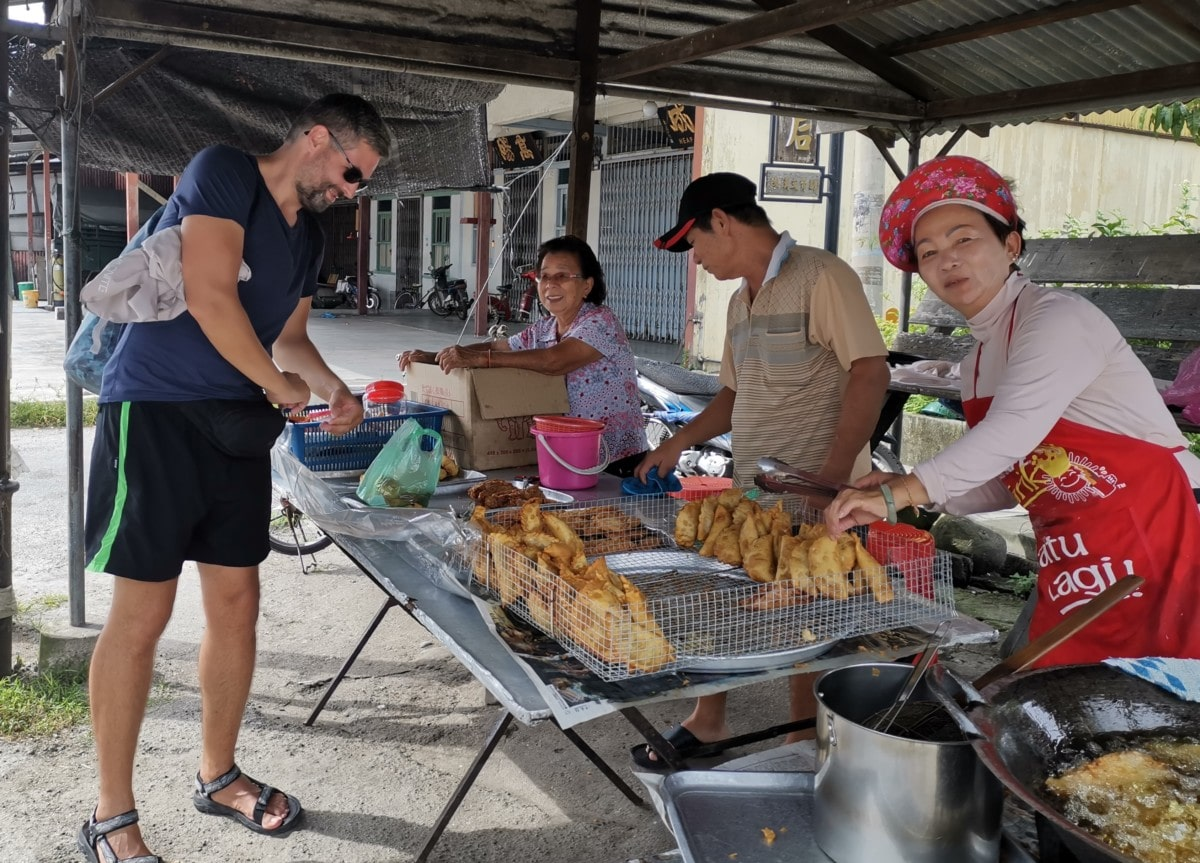 Backpacking Malaysia Streetfood Chinesen