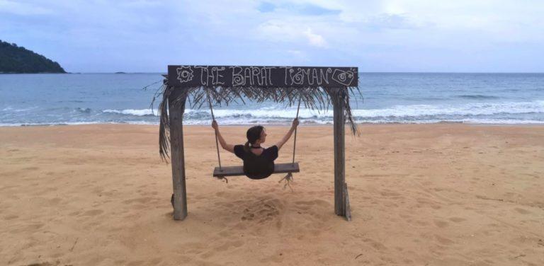 Malaysia Kosten Schaukel Strand