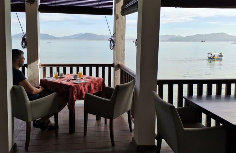 Malaysia Reise Frühstück