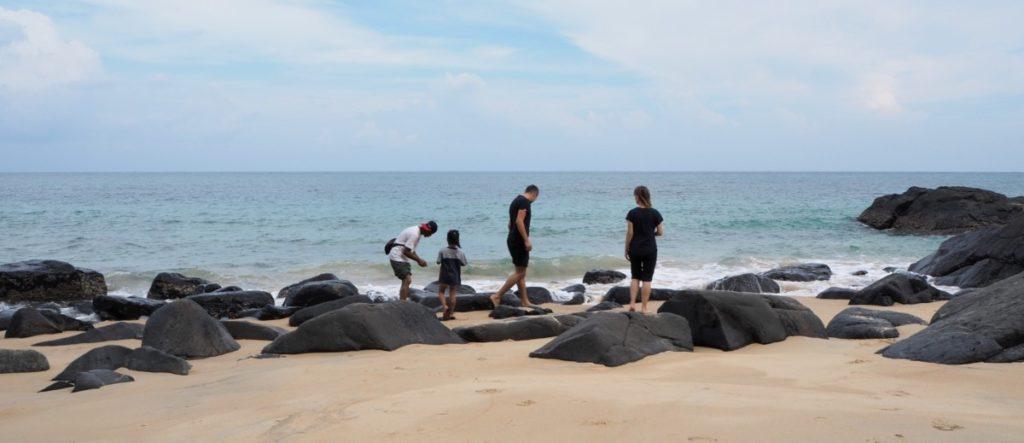 Malaysia Reisetipps Strandspaziergang