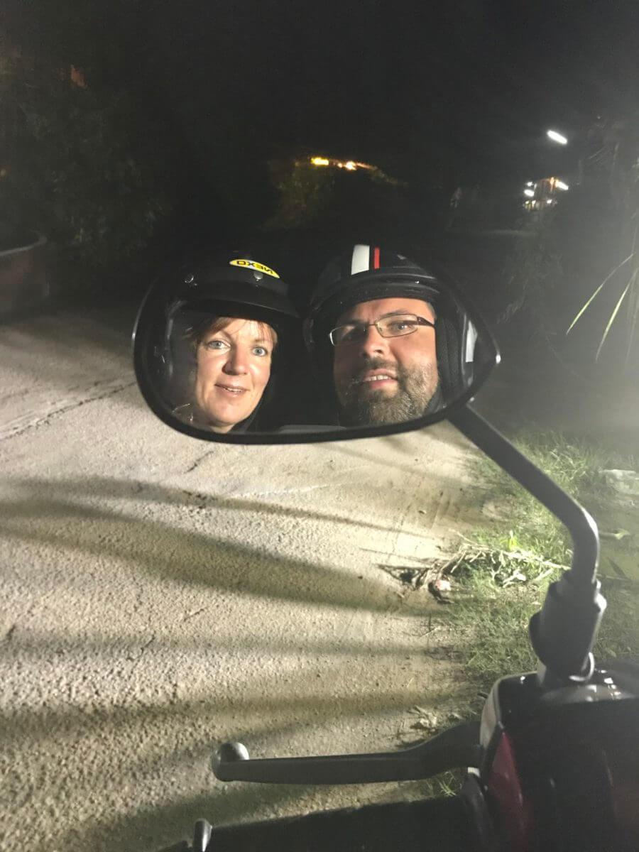 Reiseblog Maro-Effekt Moped