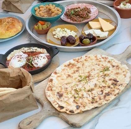 Dubai Essen Frühstück
