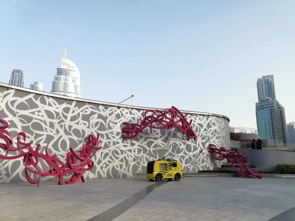 Dubai Essen Imbisswagen