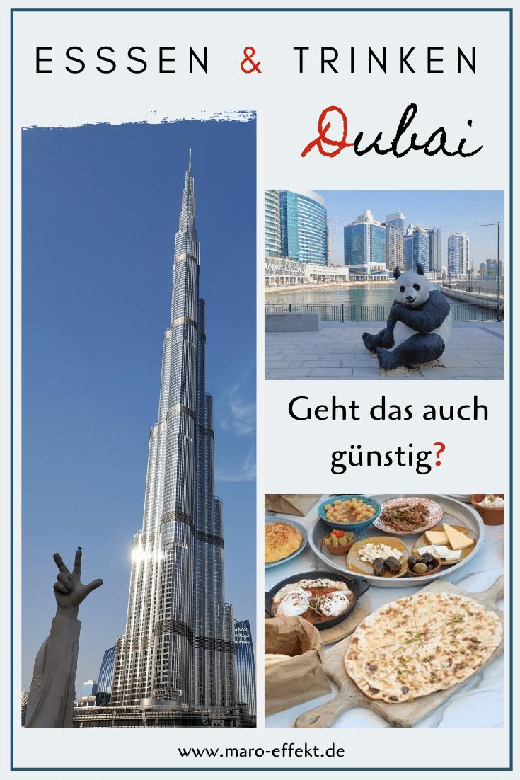 Dubai Essen guenstig Pinterest