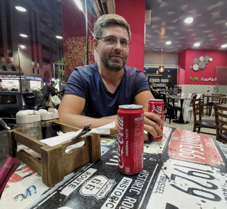 Dubai Getränke Cola