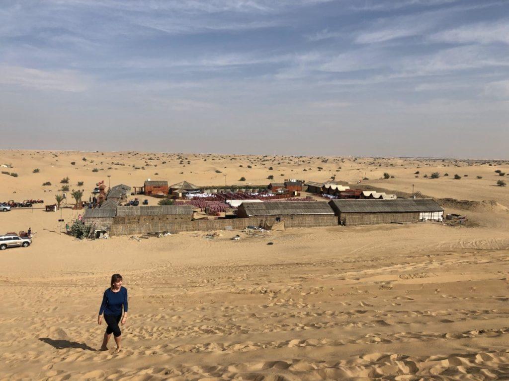 Dubai Getränke Wüste