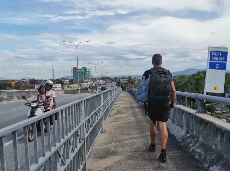 Reisebericht Malaysia Brücke offroad