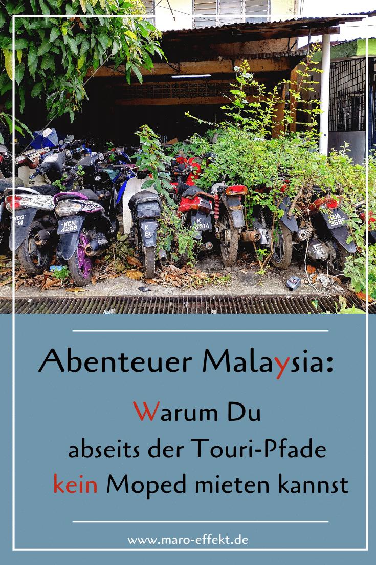 Reisebericht Malaysia Pinterest