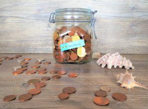 Geld sparen Reisekasse
