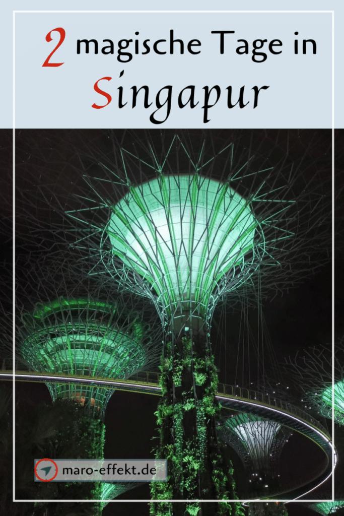 Tipps Singapur Stopover Pin