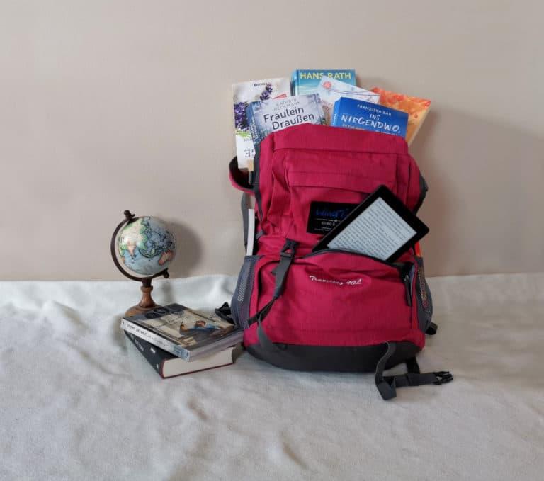Die besten Reisebücher Tipps im Rucksack