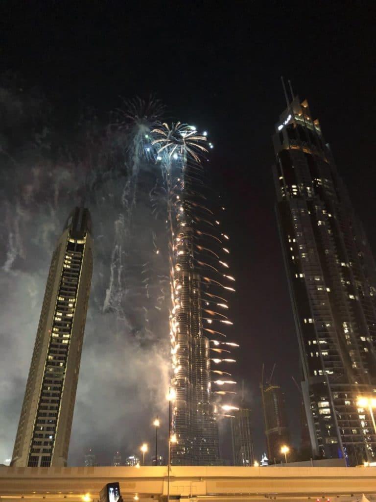 Reise nach Dubai Silvester