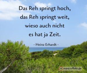 Reisezitat Heinz Erhardt Reh