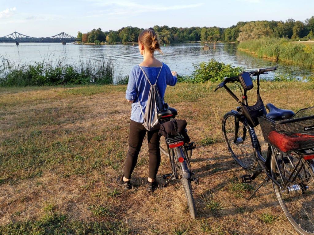 Abendstimmung: Mit dem Rad durch den Babelsberger Park
