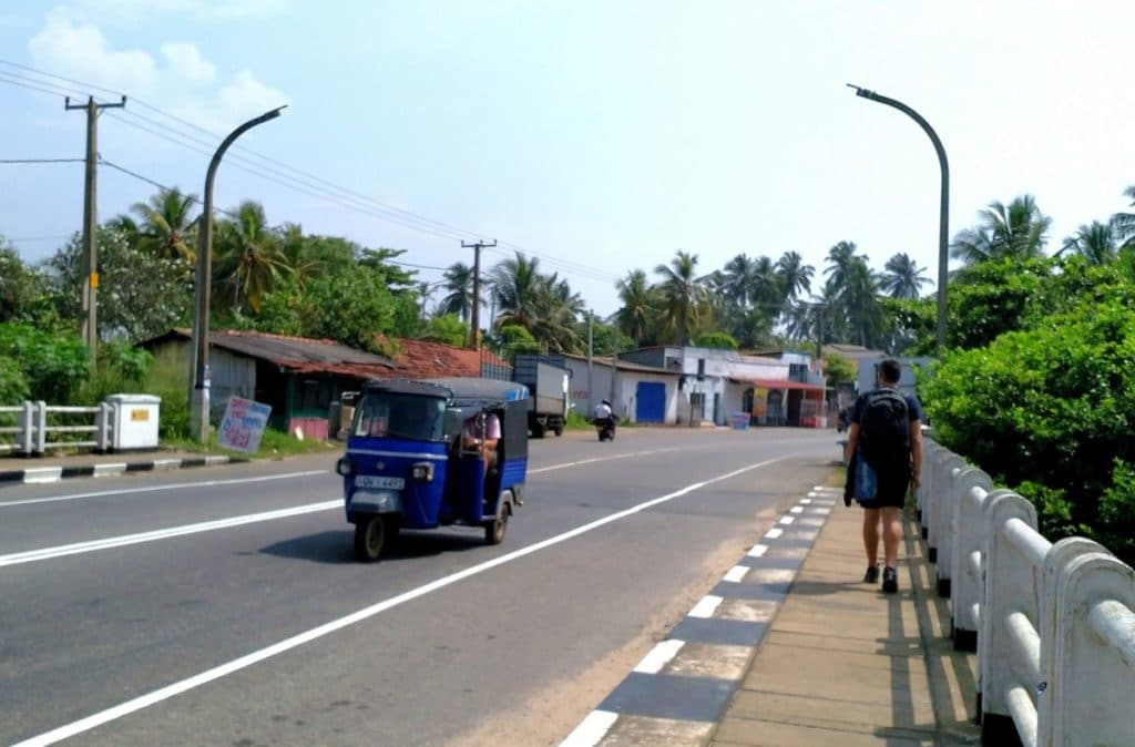 Backpacking Sri Lanka Tuk Tuk