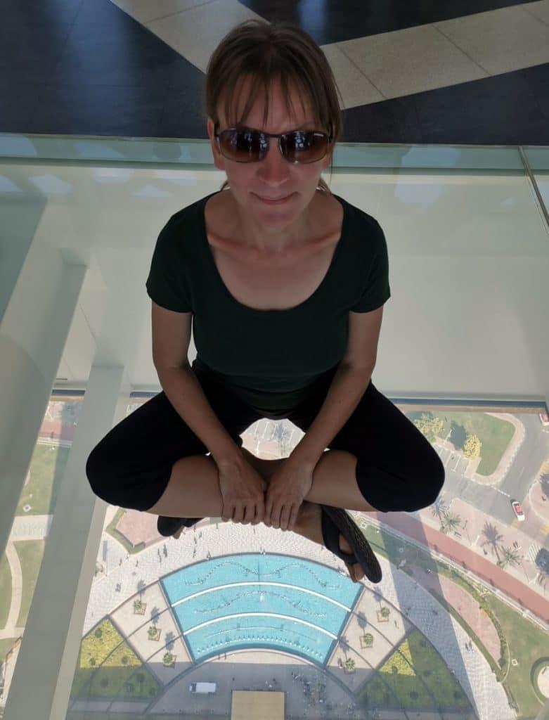 Reise nach Dubai Frame Skywalk