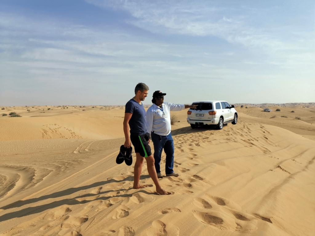 Reise nach Dubai Wüstensafari Guide