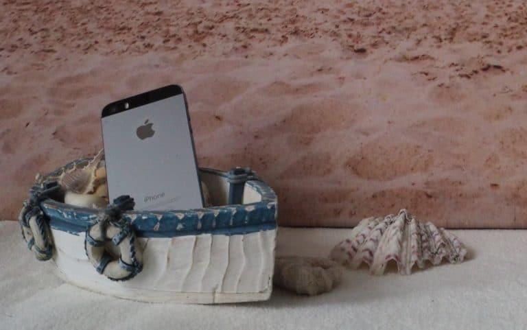 Handy im Ausland iPhone Boot