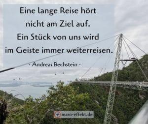 Reise Spruch Andreas Bechstein Ziel