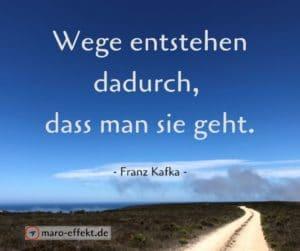 Reise Sprüche Franz Kafka Wege