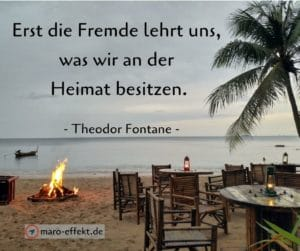 Reise Zitate Theodor Fontane Fremde