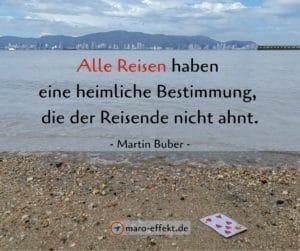 Reisesprüche Martin Buber Bestimmung