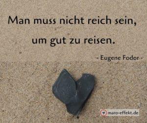 Reisesprüche Eugene Fodor reich