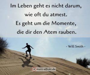Weisheit Reise Will Smith Momente