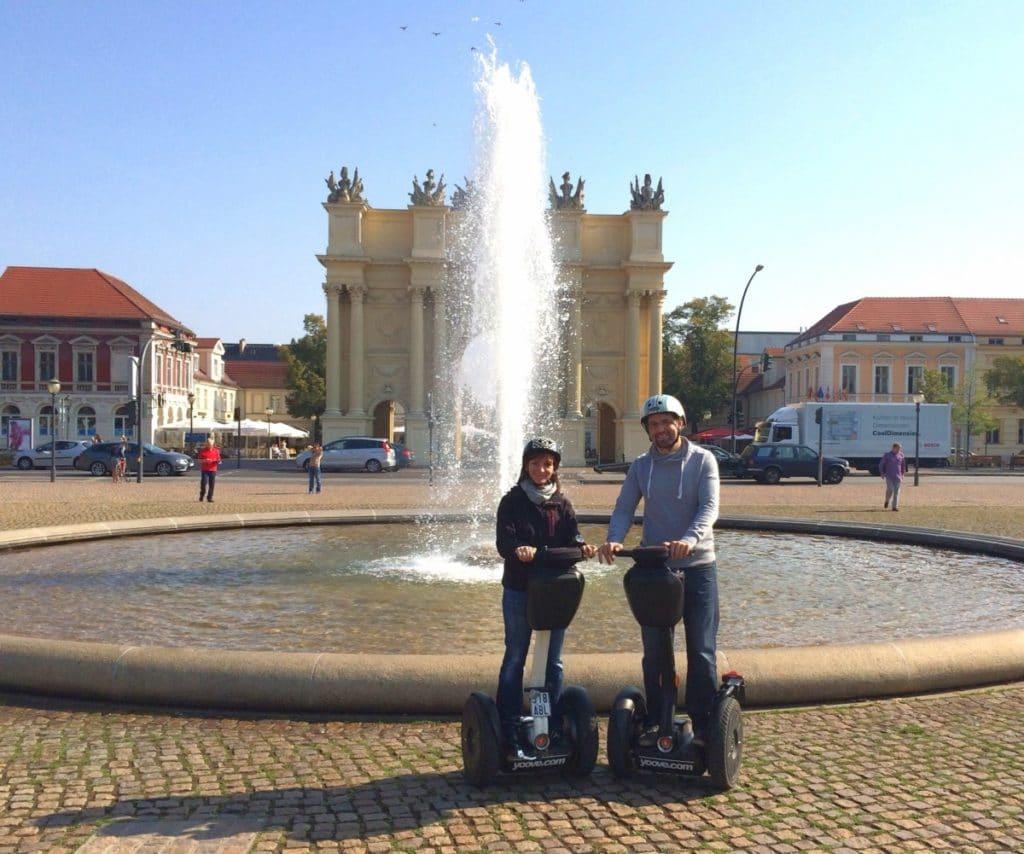 Potsdam erleben - Segway am Brandenburger Tor