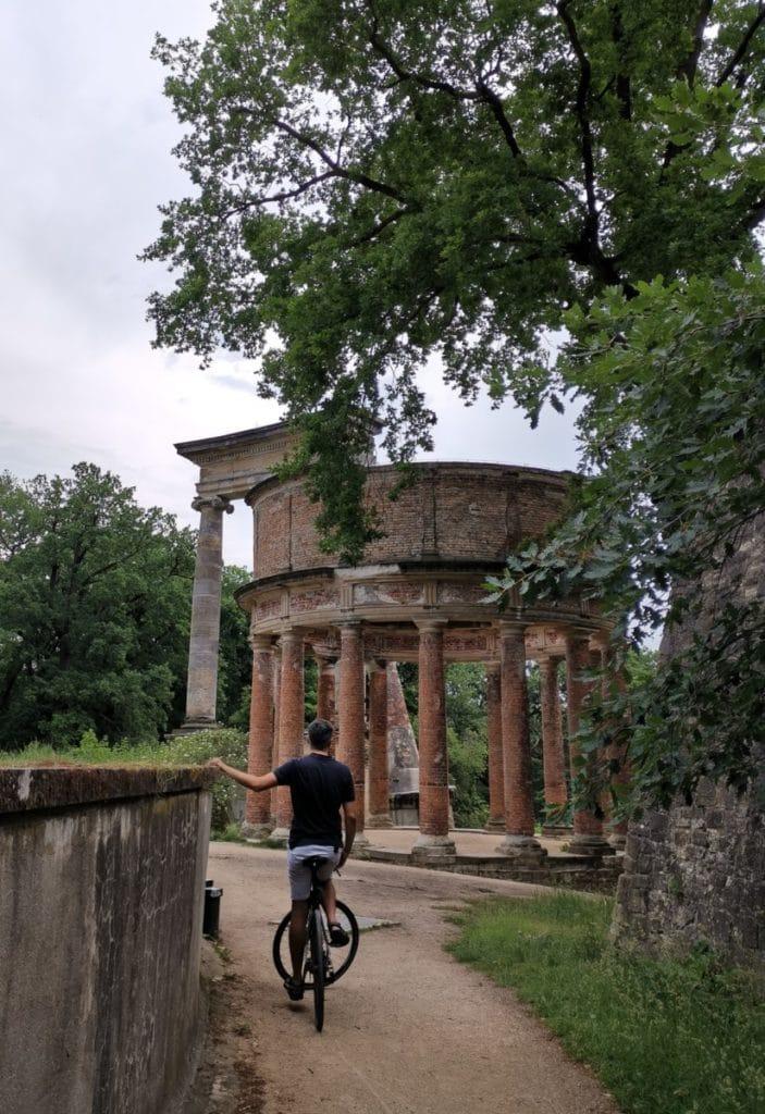 Potsdam erleben - Ruinenberg mit Fahrrad