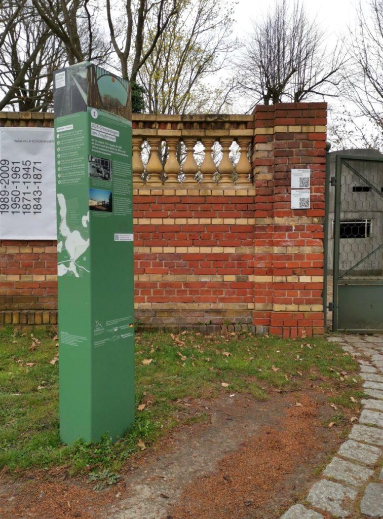 Potsdam Aktivität Infopfad mit Fahrrad