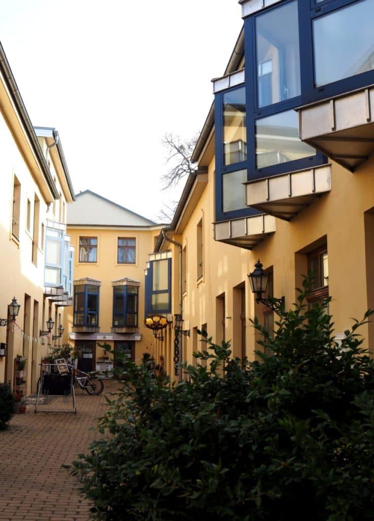 Potsdam Aktivität Hinterhöfe entdecken