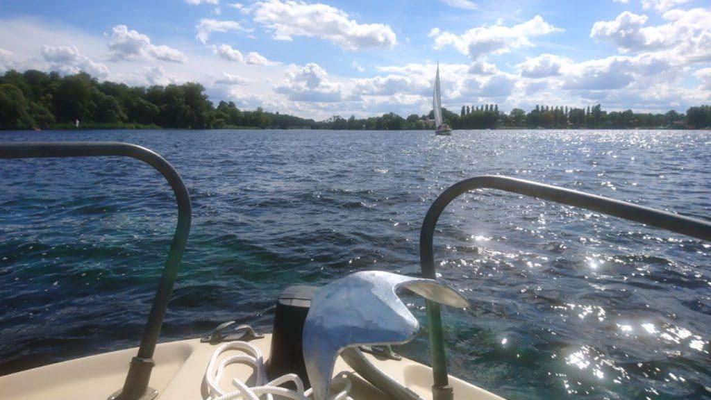 Aktivitäten in Potsdam - Boot fahren