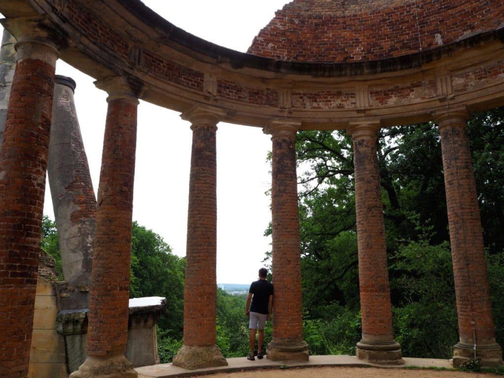 Potsdam Aktivitäten- Säulen auf dem Ruinenberg